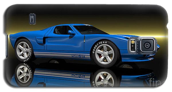 Galaxy S5 Case featuring the digital art Ford Gt40 by Walter Colvin