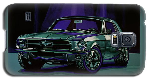 Falcon Galaxy S5 Case - Ford Mustang 1967 Painting by Paul Meijering