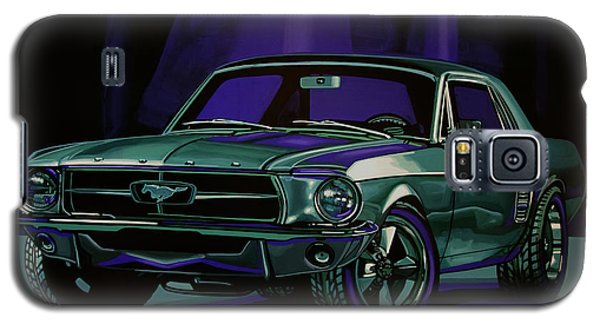 Ford Mustang 1967 Painting Galaxy S5 Case