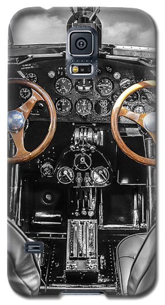 Ford Trimotor Cockpit Galaxy S5 Case