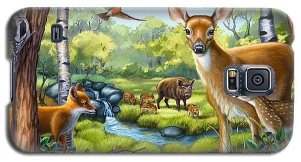 Forest Animals Galaxy S5 Case