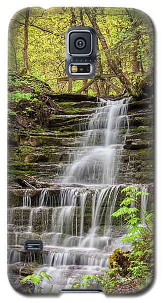 Forest Cascade Galaxy S5 Case