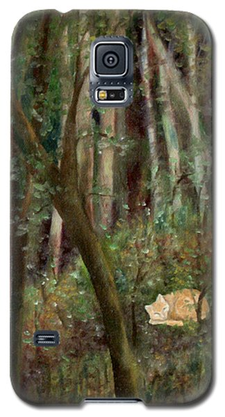 Forest Cat Galaxy S5 Case