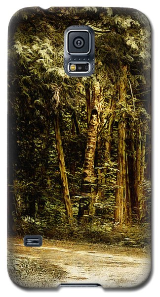 Forest Curve Galaxy S5 Case