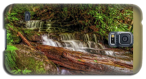 Galaxy S5 Case featuring the photograph Forest Falls by Christopher Holmes