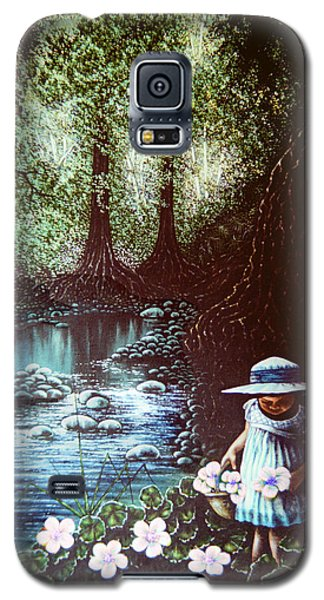 Forest Flower Galaxy S5 Case