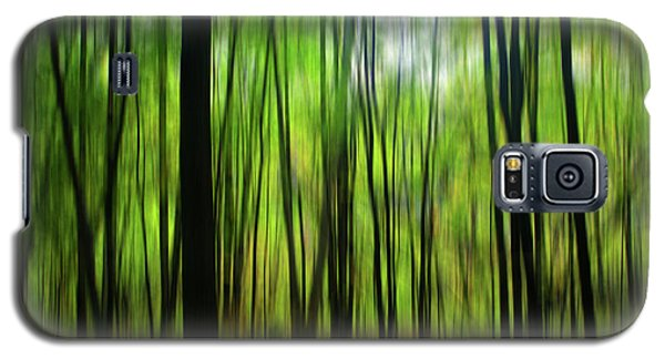 Forest Green Abstract Galaxy S5 Case