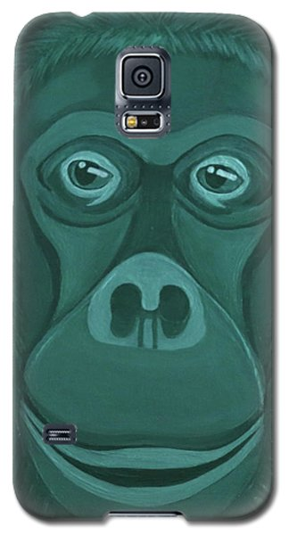 Forest Green Orangutan Galaxy S5 Case