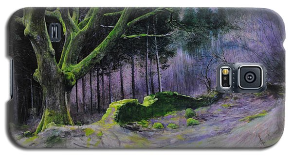 Forest In Wales Galaxy S5 Case by Harry Robertson