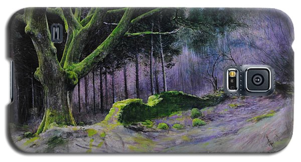 Forest In Wales Galaxy S5 Case