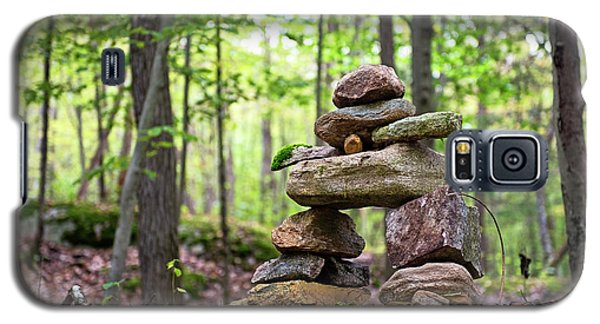 Forest Inukshuk Galaxy S5 Case