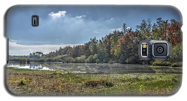 Forest Lake In Autumn Galaxy S5 Case