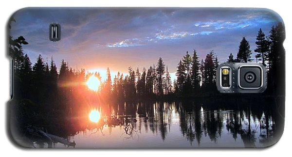 Forest Lake Sunset  Galaxy S5 Case by Irina Hays