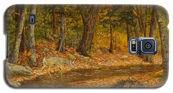 Forest Life Galaxy S5 Case by Roena King