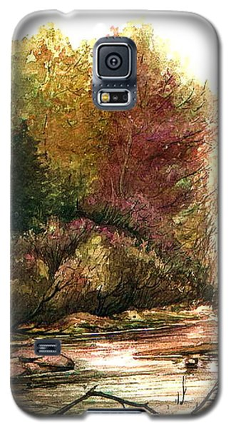 Forest Puddle Galaxy S5 Case