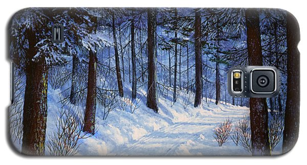 Forest Road Galaxy S5 Case by Frank Wilson