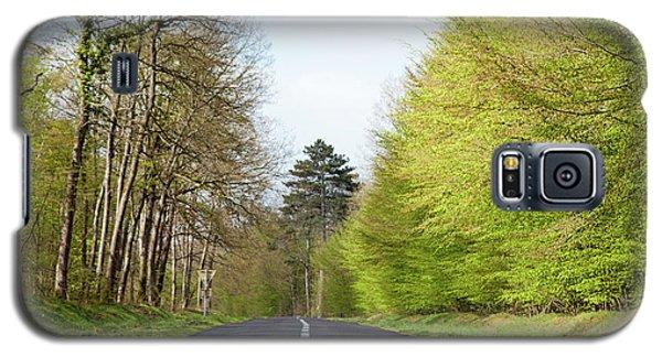 Forest Road Galaxy S5 Case by Yoel Koskas