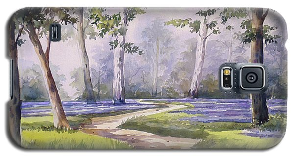 Galaxy S5 Case featuring the painting Forest  by Samiran Sarkar