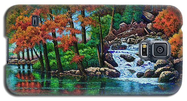 Forest Stream II Galaxy S5 Case