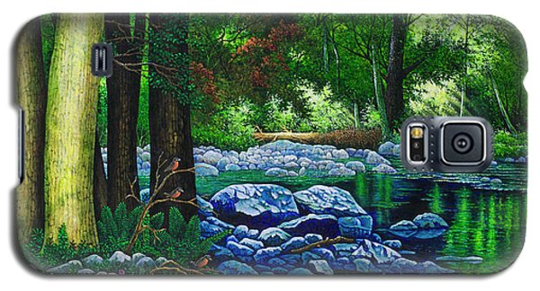 Forest Stream Galaxy S5 Case