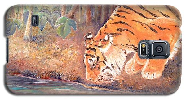 Forest Tiger Galaxy S5 Case by Elizabeth Lock