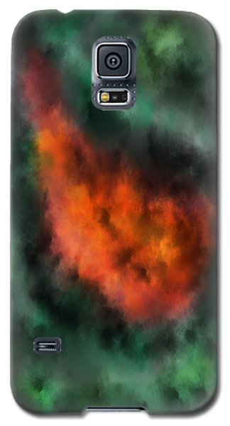 Forest Under Fire Galaxy S5 Case