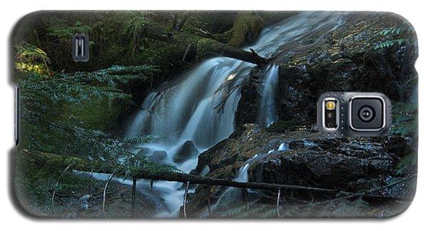 Forest Waterfall. Galaxy S5 Case by Yulia Kazansky