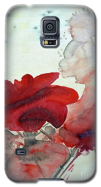 Galaxy S5 Case featuring the painting Forever by Jasna Dragun