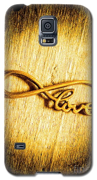 Forever Love Galaxy S5 Case