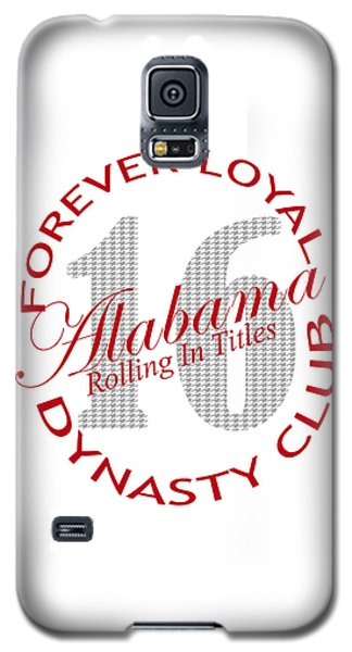 Galaxy S5 Case featuring the digital art Forever Loyal Dynasty Club by Greg Sharpe