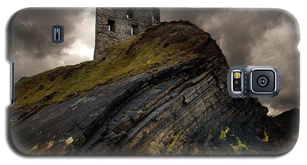 Forgotten Castle In Ballybunion Galaxy S5 Case