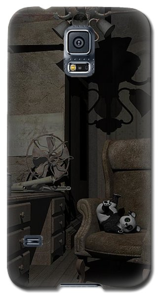 Galaxy S5 Case featuring the digital art Forgotten Friend by Sipo Liimatainen