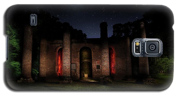 Galaxy S5 Case featuring the photograph Forgotten Gods by Mark Andrew Thomas
