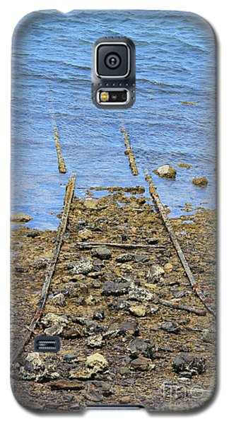 Galaxy S5 Case featuring the photograph Forgotten Line by Stephen Mitchell