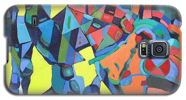 Galaxy S5 Case featuring the painting Forgotten Memories Of Broken Promises by Bernard Goodman