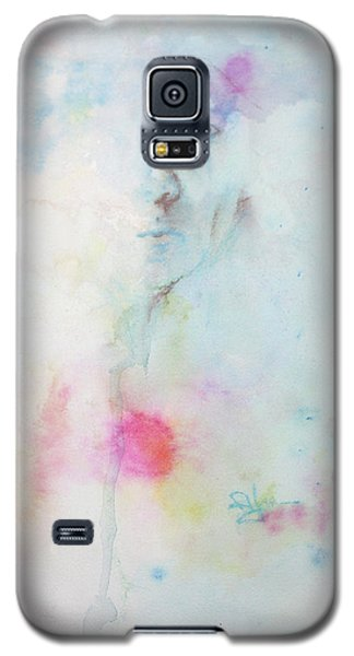 Galaxy S5 Case featuring the painting Forlorn Me by Rachel Hames