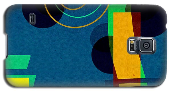 Galaxy S5 Case featuring the digital art Formes - 03b by Variance Collections