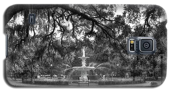 Forsyth Park Fountain 2 Savannah Georgia Art Galaxy S5 Case by Reid Callaway