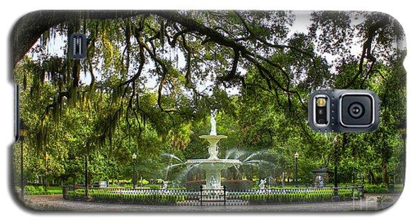 Forsyth Park Fountain Historic Savannah Georgia Galaxy S5 Case