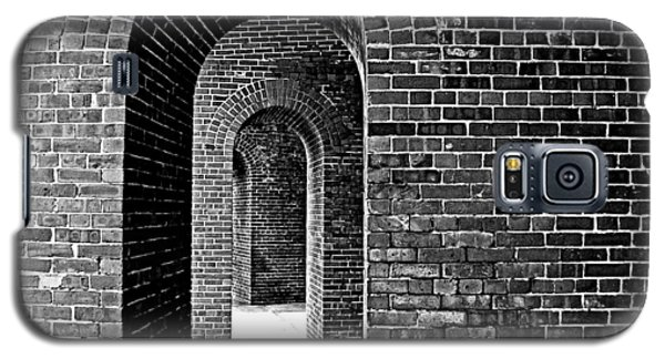 Fort Arches In Black And White Galaxy S5 Case