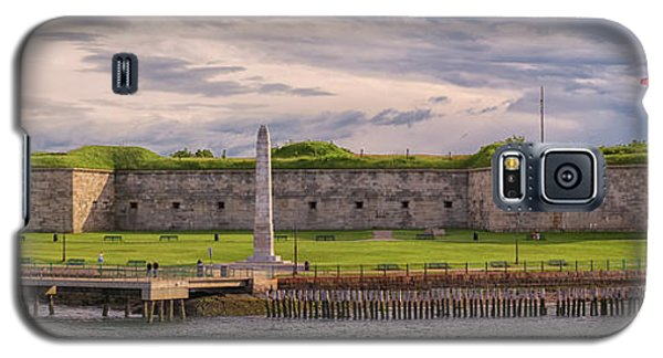 Fort Independence At Castle Island Galaxy S5 Case