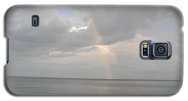 Galaxy S5 Case featuring the photograph Fort Lauderdale Rainbow by Patricia Piffath