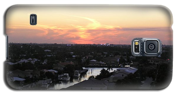 Fort Lauderdale Sunset Galaxy S5 Case
