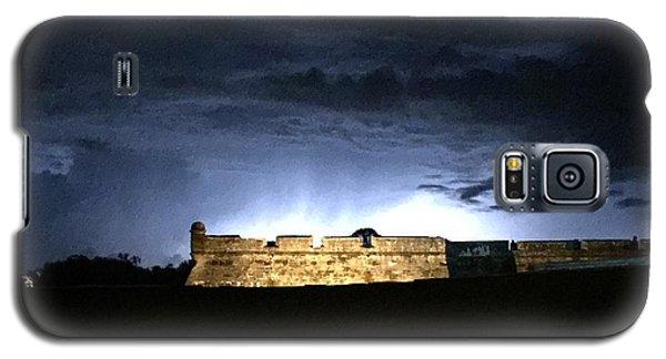 Lightening At Castillo De San Marco Galaxy S5 Case