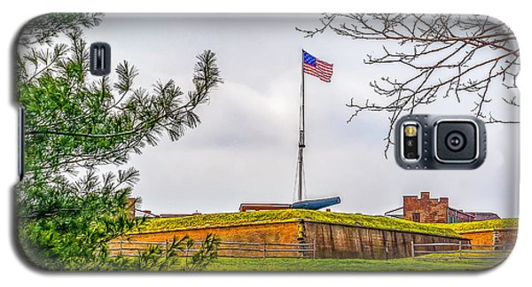 Galaxy S5 Case featuring the photograph Fort Mchenry National Monument  by Nick Zelinsky