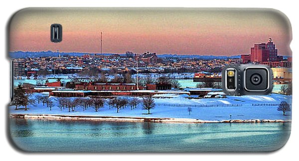 Fort Mchenry Shrouded In Snow Galaxy S5 Case