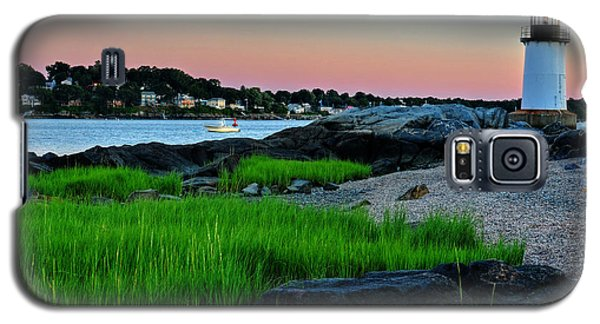 Fort Pickering Light Through The Tall Grass Salem Ma Galaxy S5 Case