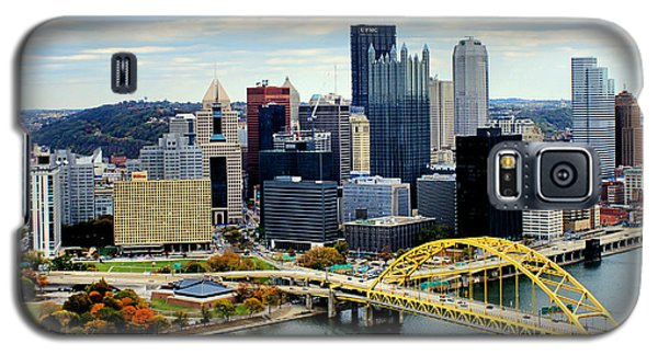 Galaxy S5 Case featuring the photograph Fort Pitt Bridge by Michelle Joseph-Long
