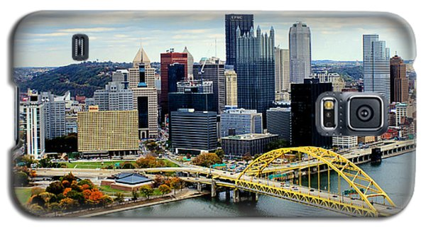 Fort Pitt Bridge Galaxy S5 Case