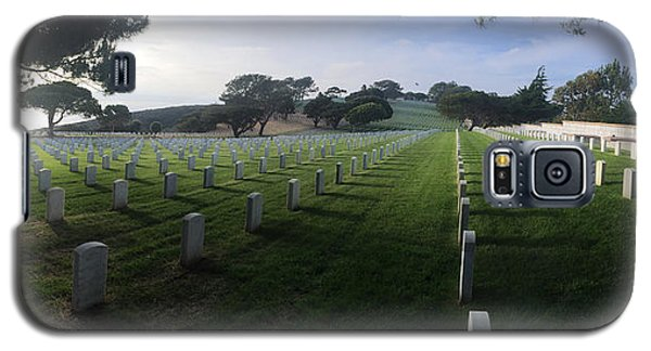 Fort Rosecrans National Cemetery Galaxy S5 Case by Lynn Geoffroy